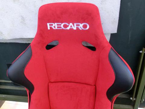 バケットシート(RECARO)張替